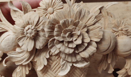 Wood Carving by Mary May