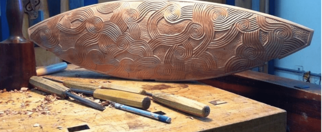 Intricate Wooden Carving by Michael Cullen